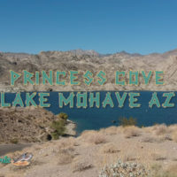 Princess Cove Boat Ramp and Picnic Area Lake Mohave Arizona